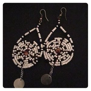 Jewelry - Handmade beaded earrings